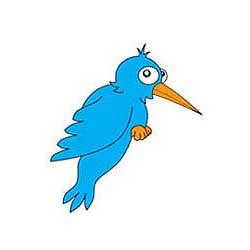 Twitter Humming Birds Logo