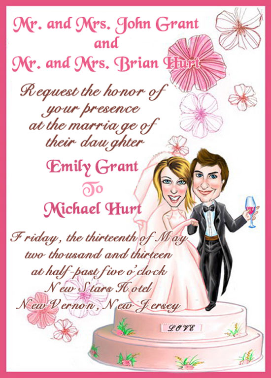 wedding invitation wording etiquette, Wedding invitations