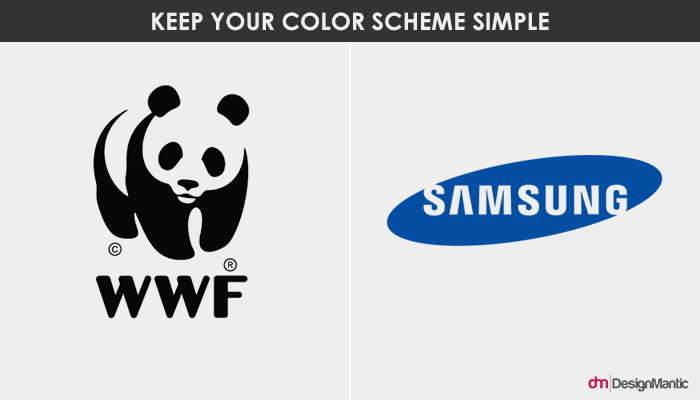 The Panda and Samsung Logo