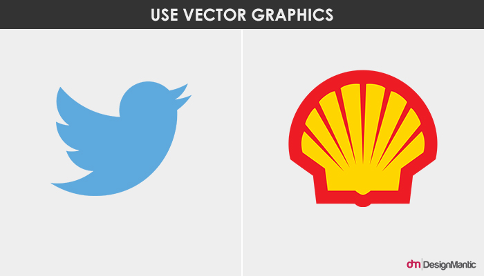 Twitter and Shell logo