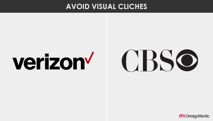 verizon and CBS classic logo