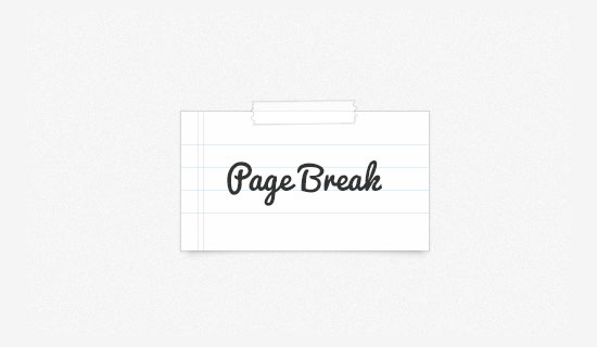 Using CSS3 Page Break To Organise Print Pages