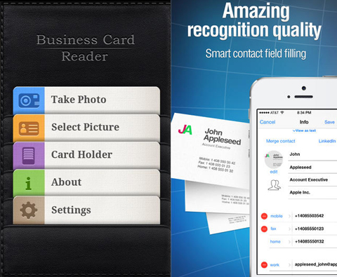 GivingTuesday Roundup 12 Smart Business Card Apps for