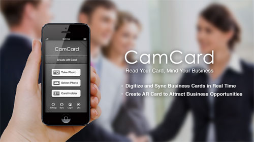 Business card apps for smbs designmantic the design shop camcard apps camcard helps you organize business cards colourmoves