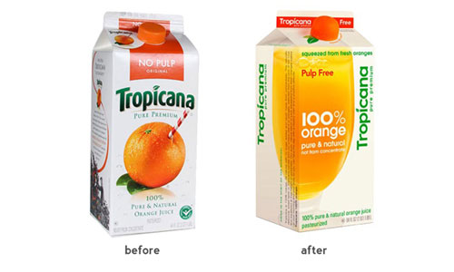 Tropicana Packaging Redesign