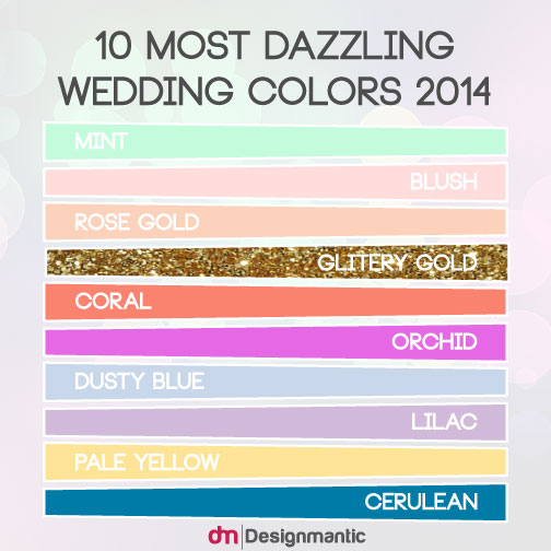 What Wedding Colors are in Vogue this Year?