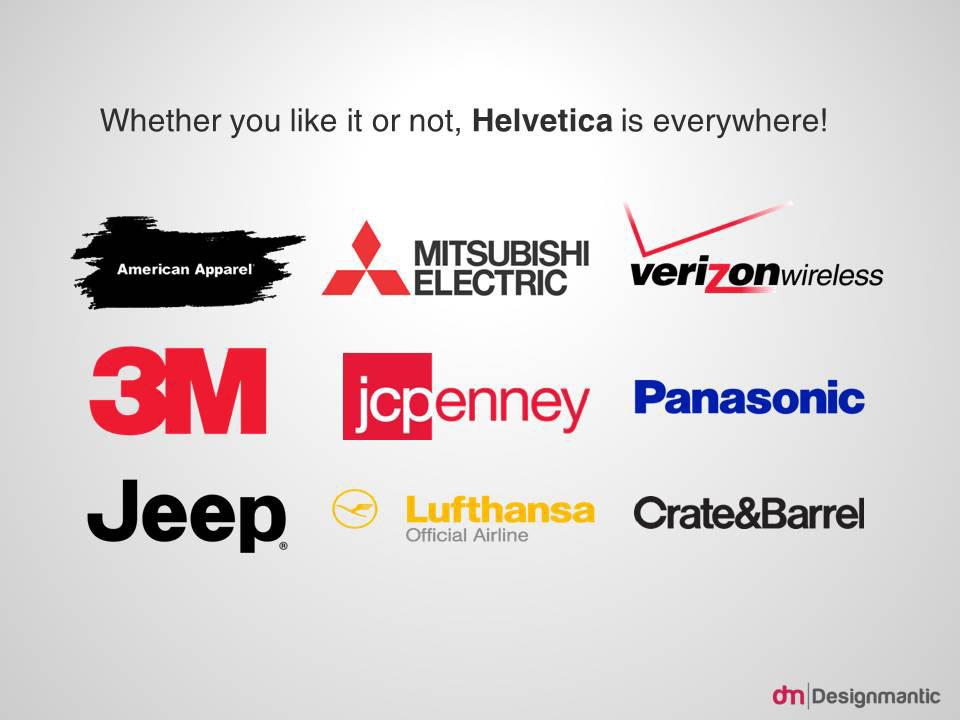 Helvetica Logos