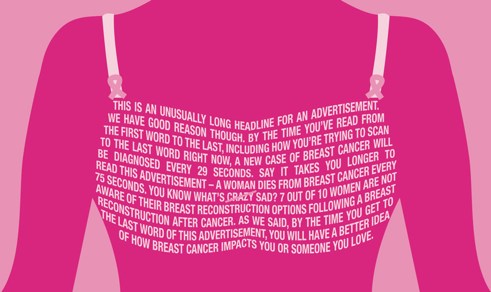 Graphic Design for Care and Cure (Breast Cancer Awareness ...