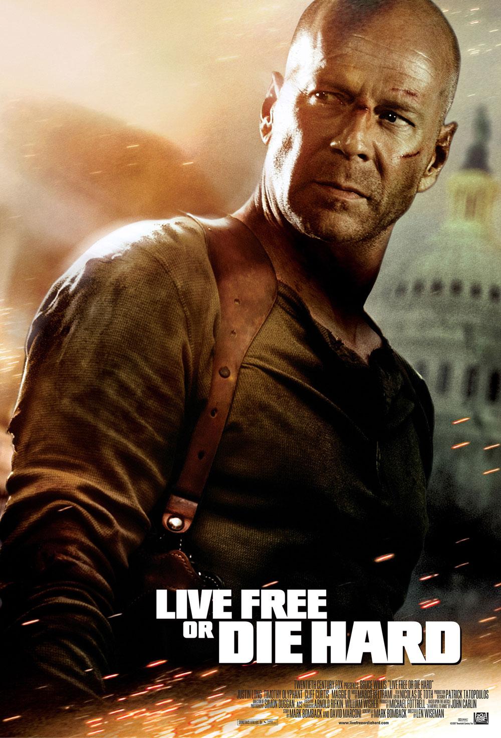 Live Free Or Die Hard Action Movie