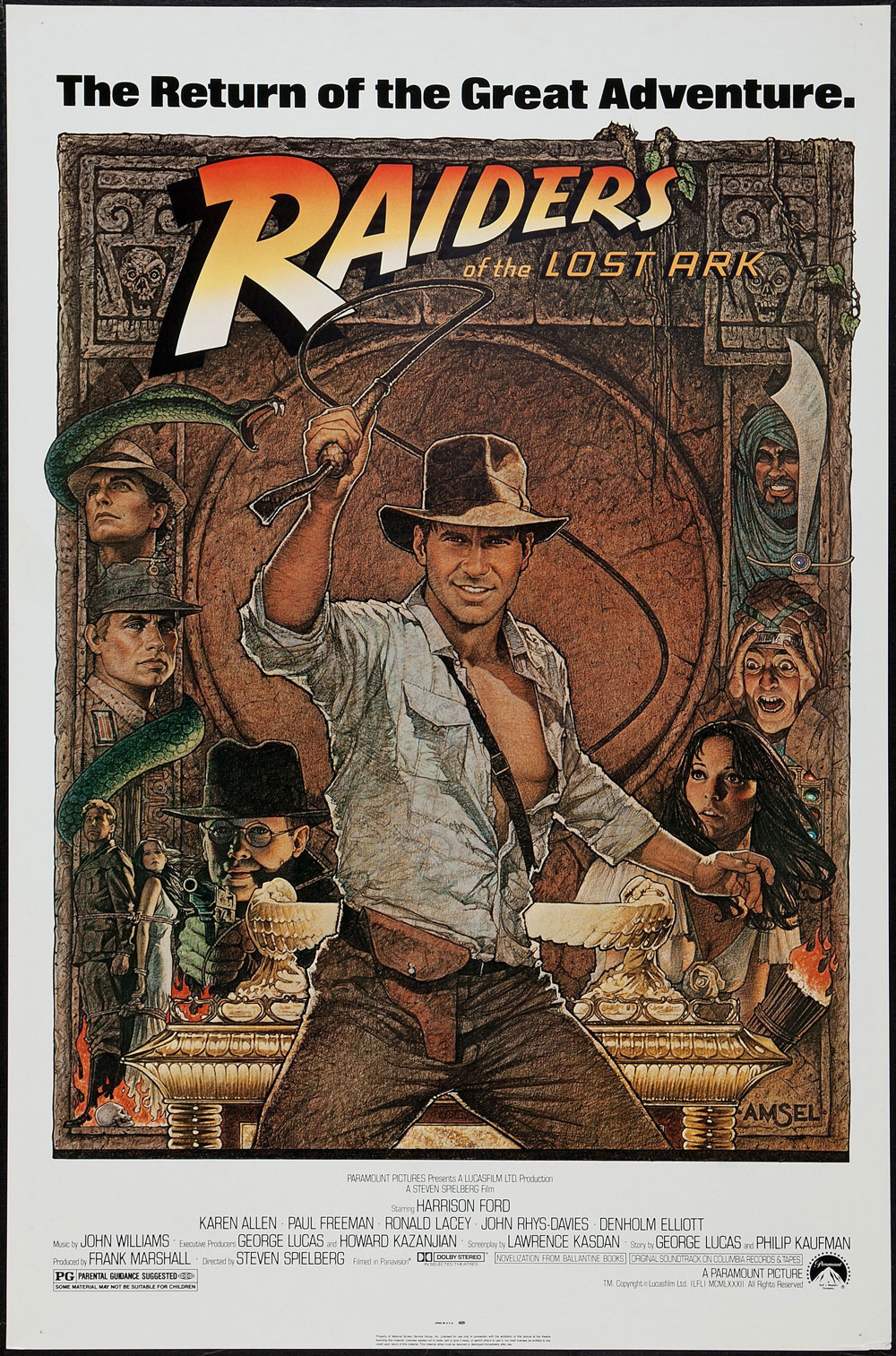 Raiders Of The Lost Ark Action Movie