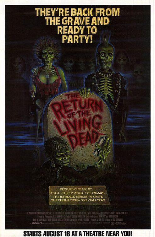The Return Of The Living Dead Horror Movie