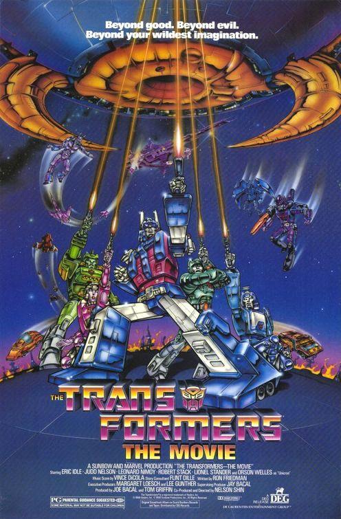 Transformers Comic Book Movie