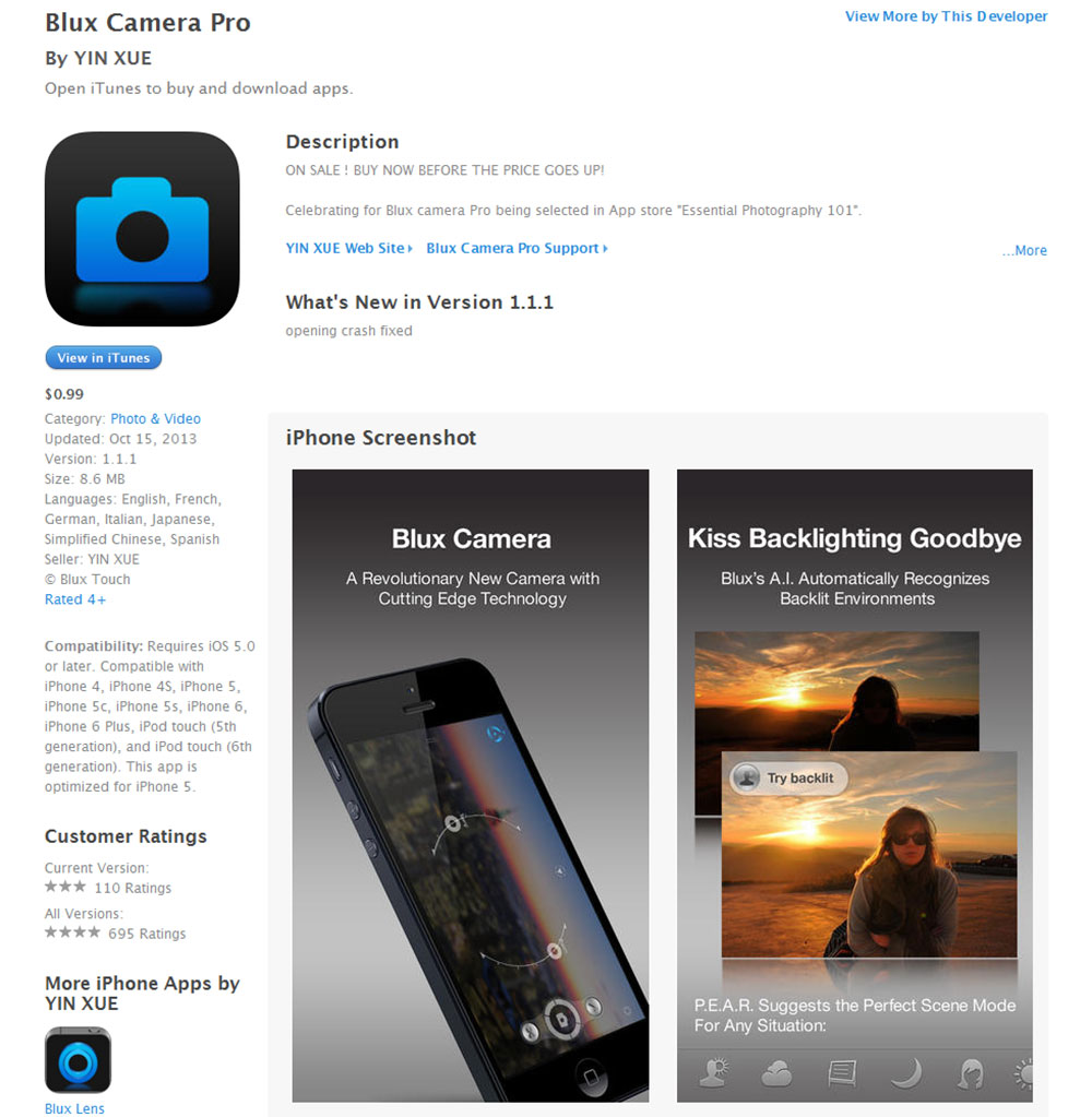Blux-Camera-Pro