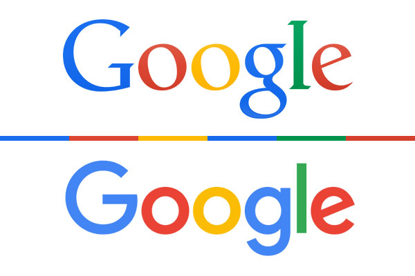 Google Old and New Logo