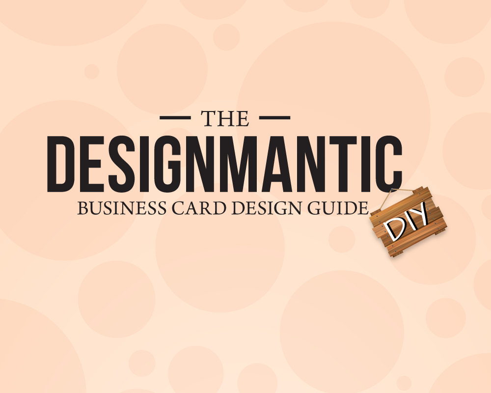 A business card guide designmantic the design shop reheart Gallery