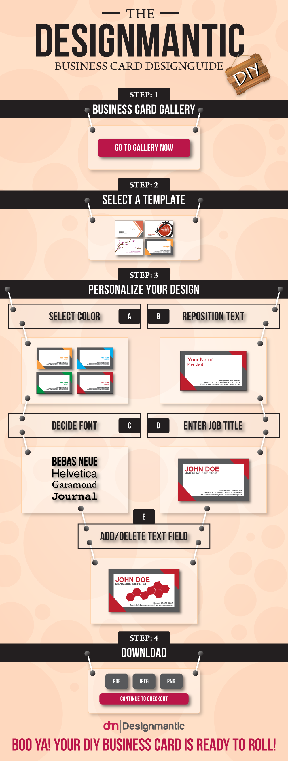 A Business Card Design Guide of DesignMantic