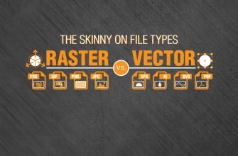 Raster vs Vector file types