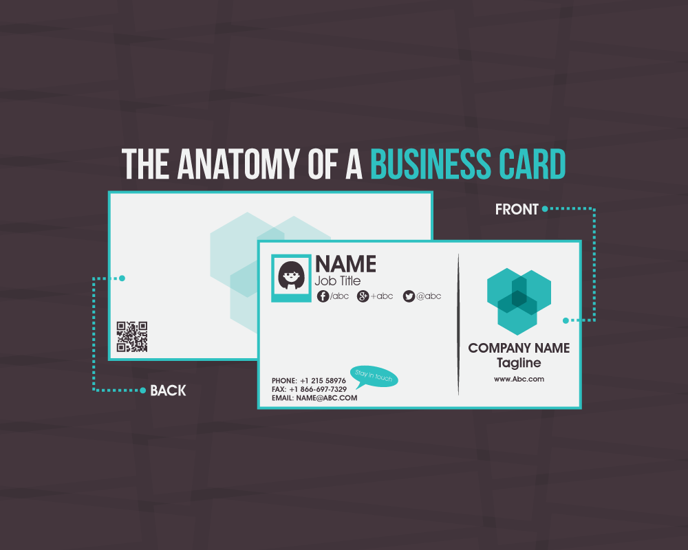 The anatomy of a business card designmantic magicingreecefo Images