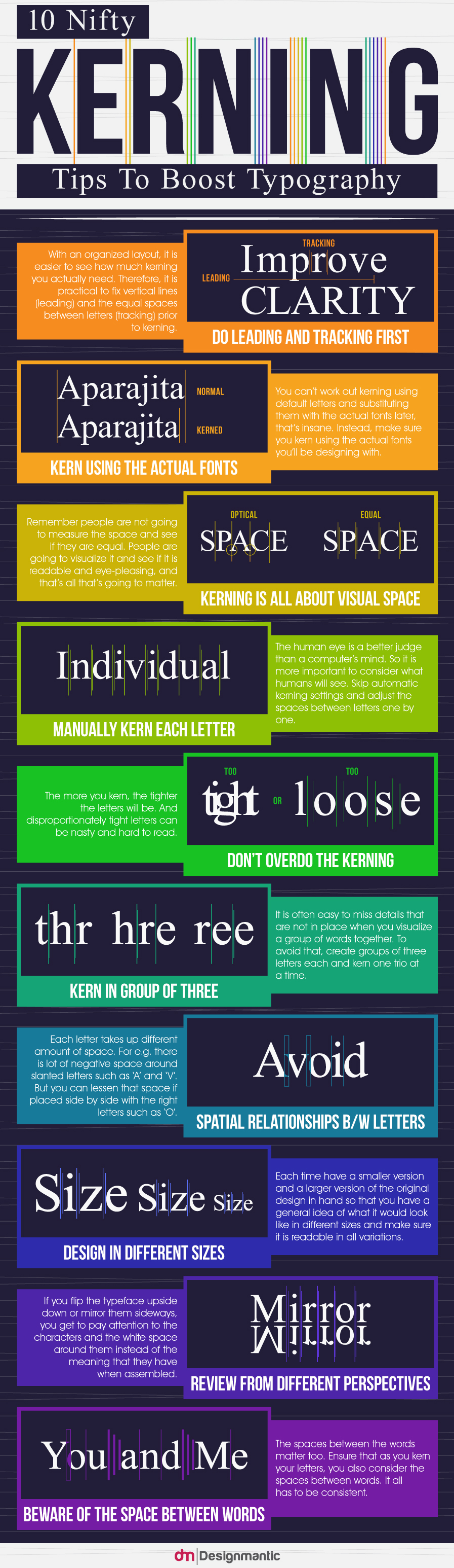 10 Nifty Kerning Tips To Boost Typography