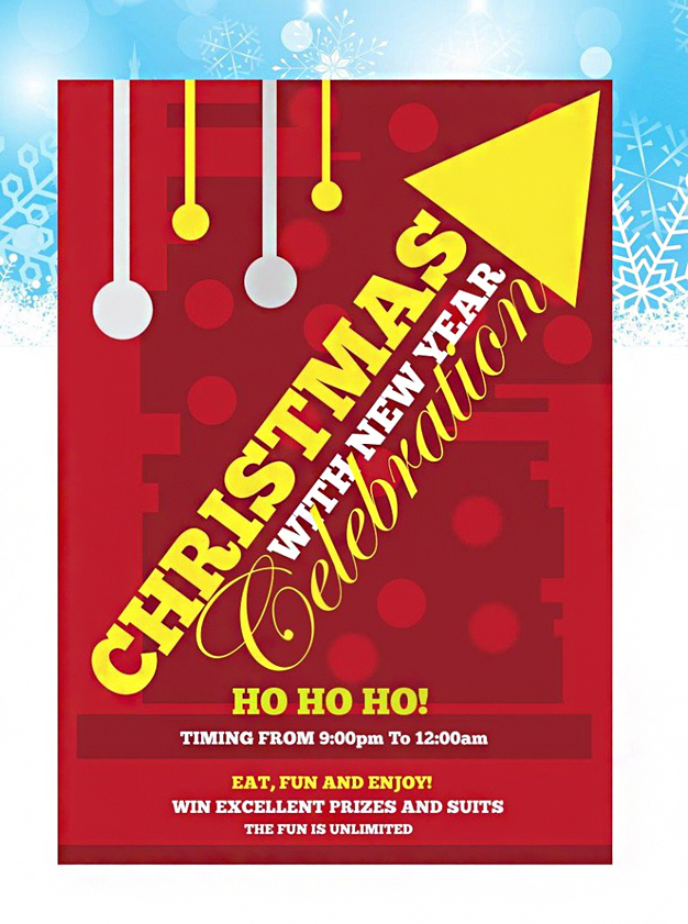 Christmas Flyer New & Year Freebie Design