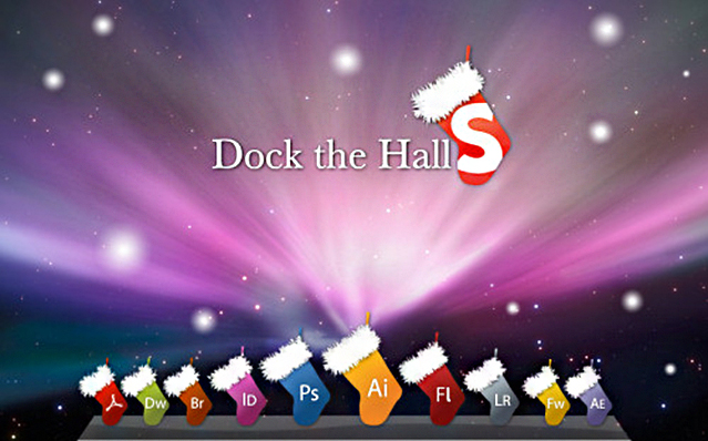 Dock The Hall Icon Set