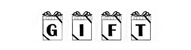 Gift Font