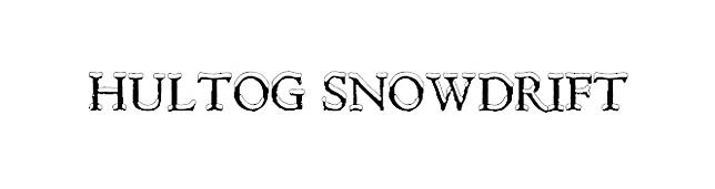 Hultog Snowdrift Fonts