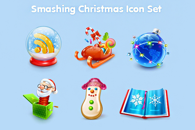 Smashing Xmas Icon Set