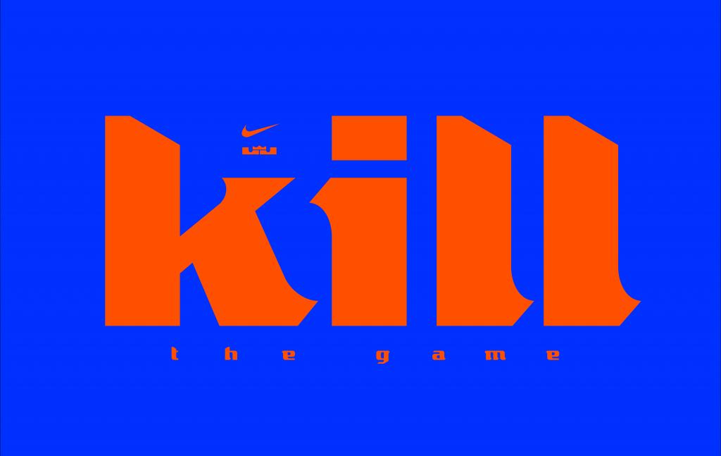 22fcc9d7a LeBron James is Now a Typeface | DesignMantic: The Design Shop