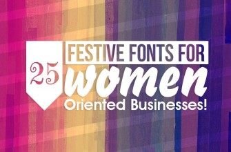 25 fonts for women oriented business