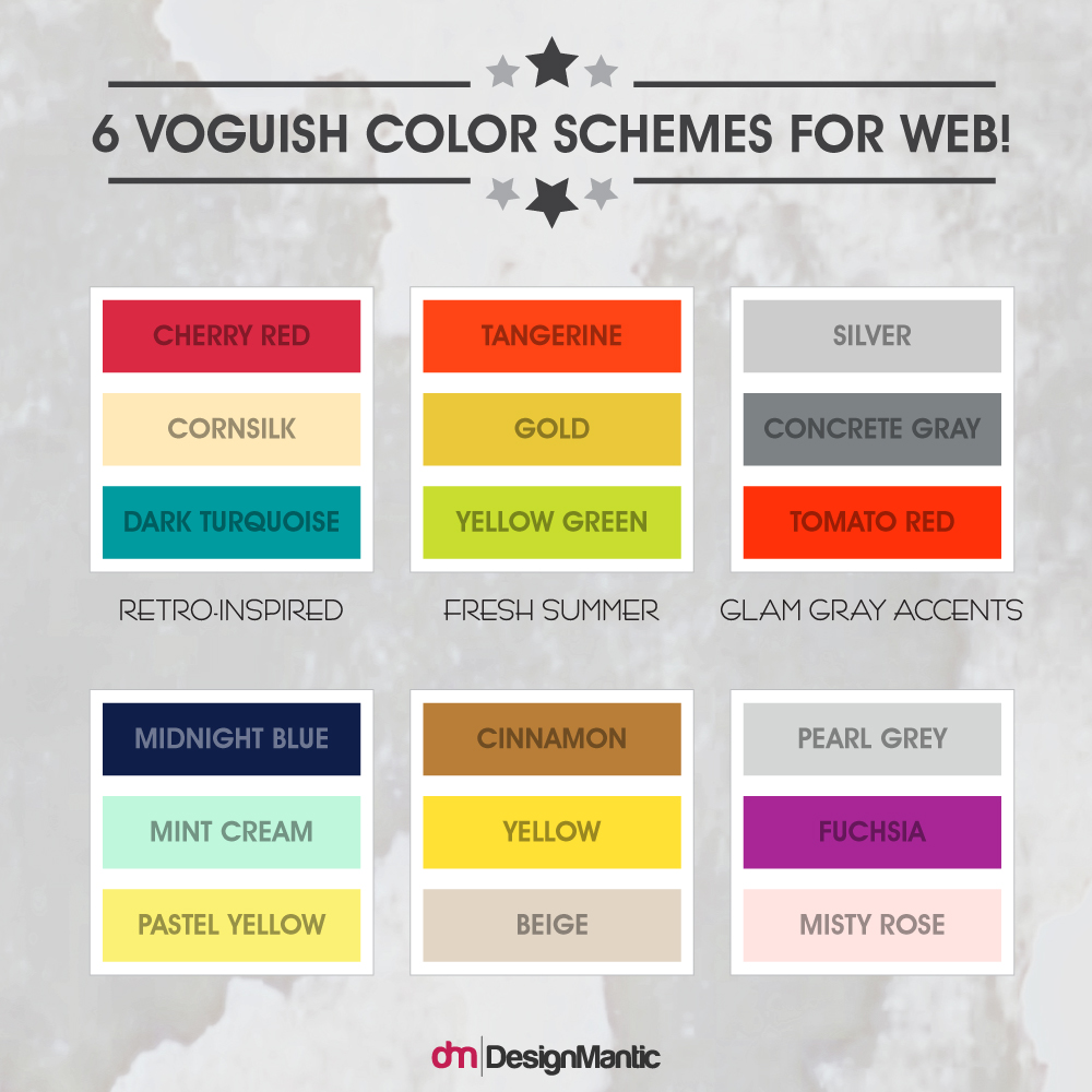 color wheel website design