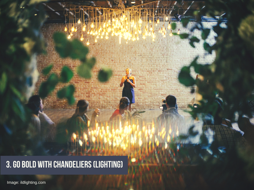 Go Bold With Chandeliers