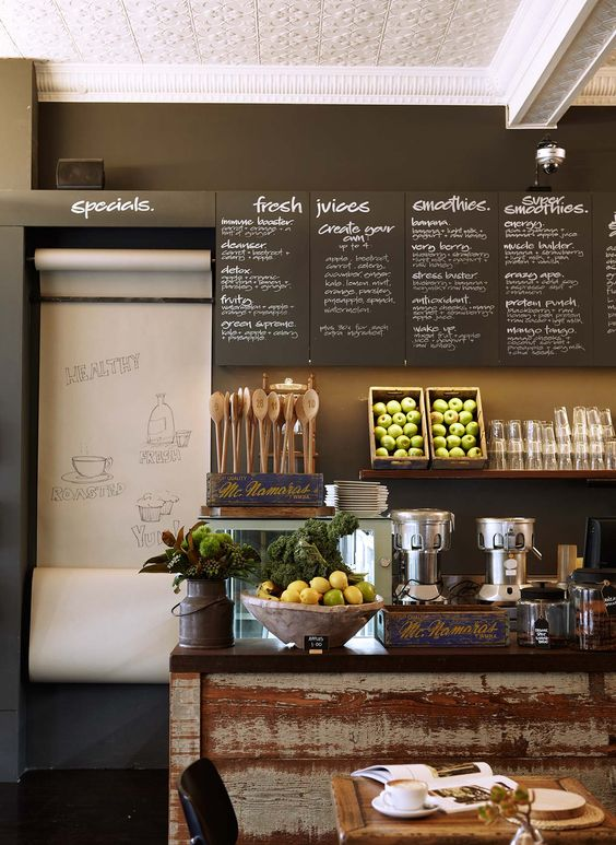 Cafe Restaurant Wall Design : Tempting wall art artists of food industry designmantic