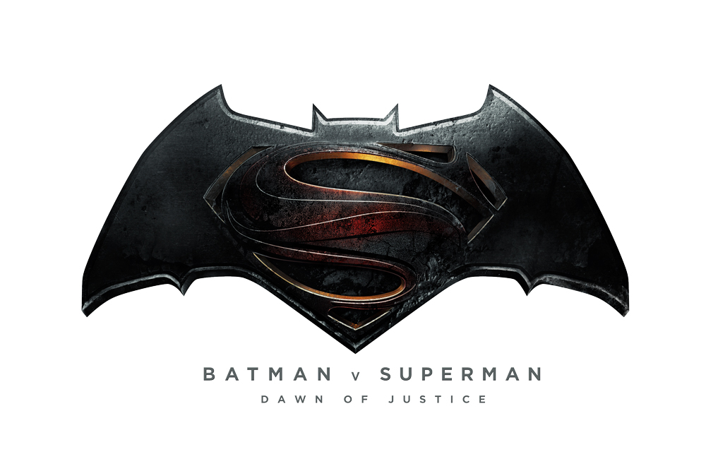 Logo Evolution Of Batman Vs. Superman - DesignMantic Batman Vs Superman Movie Logo