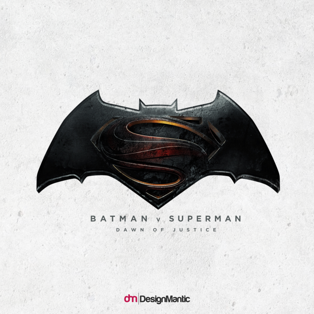 Batman Vs Superman Logo Evolution Designmantic The Design Shop
