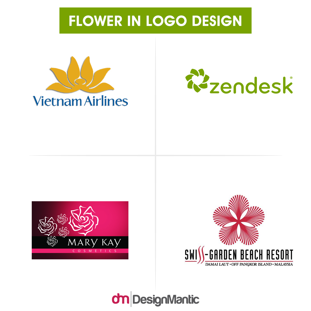 7 game of thrones inspired logo designmantic the design shop the importance of floral logos for top brands biocorpaavc Gallery