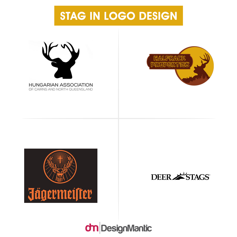 7 game of thrones inspired logo designmantic the design shop why have the mighty stag grace your logo biocorpaavc Gallery