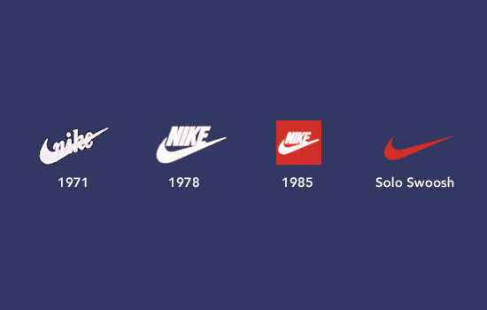 nike logo evolution