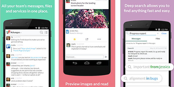 Slack Android app