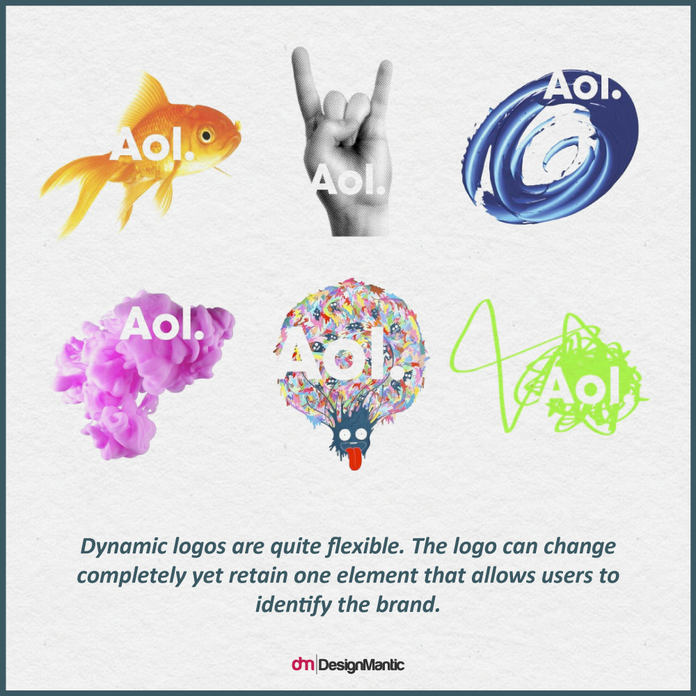AOL's Dynamic Logo