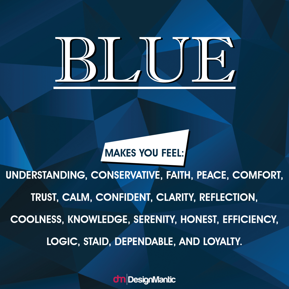 Blue Is The Color Of Clear Communication Being Mind Essentially Soothing It Has A Conuous Effect On Our Minds