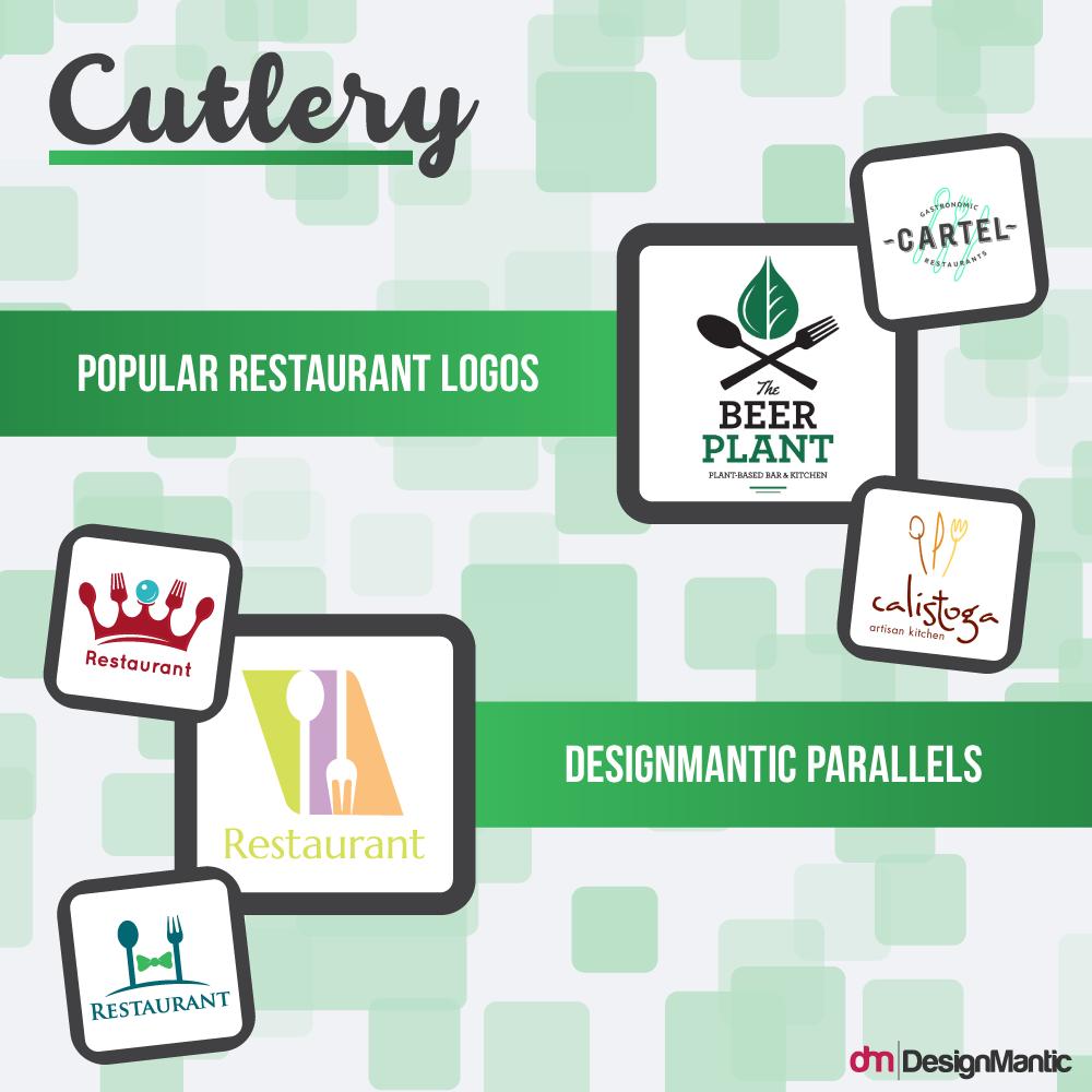 Restaurant Logos Cutlery