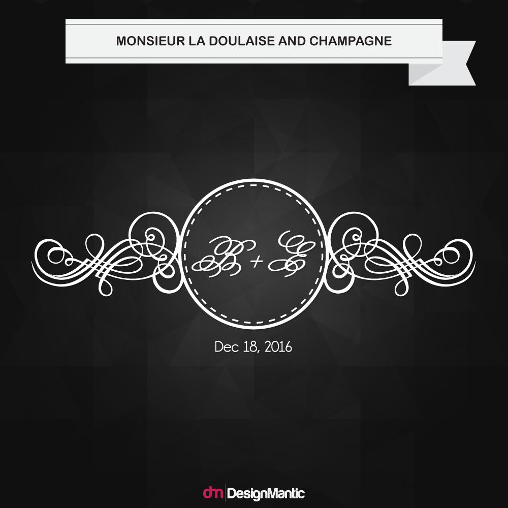 wedding monogram font pairing 6