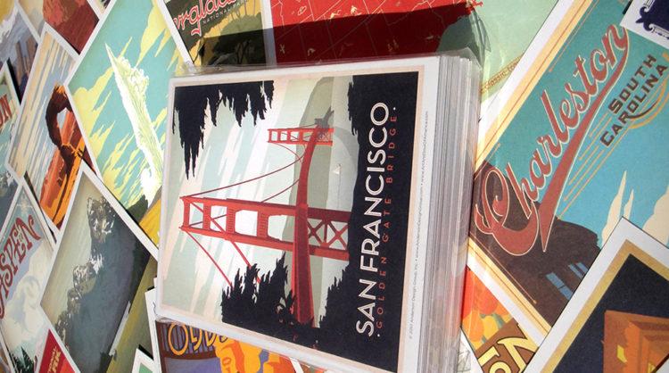 Travel Postcard Designs