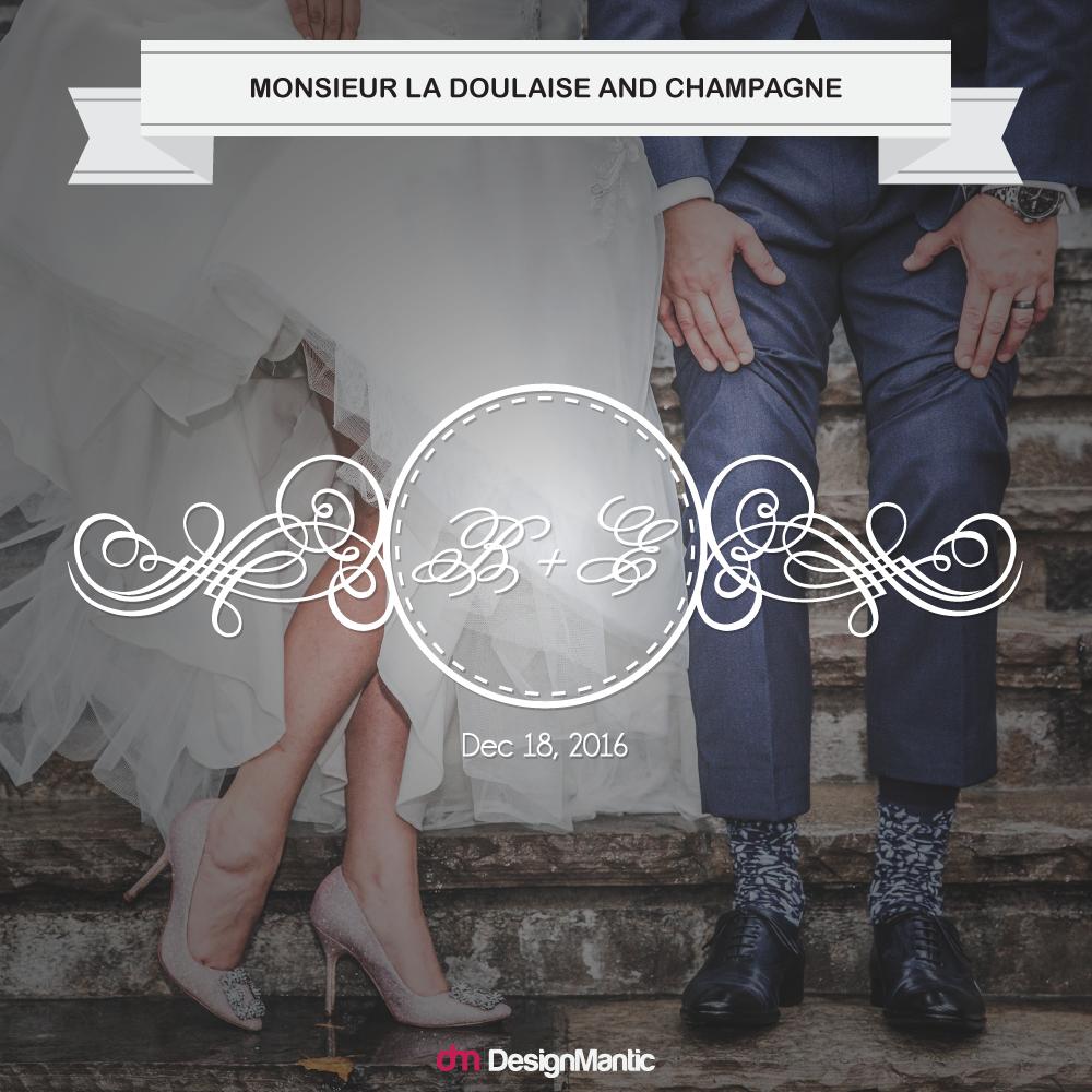 wedding monogram font pairing 4