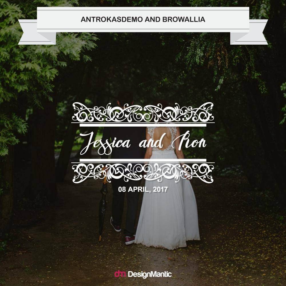 wedding monogram font pairing 7