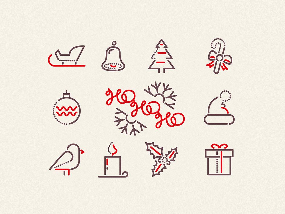Ho-Ho-Ho Icon Set