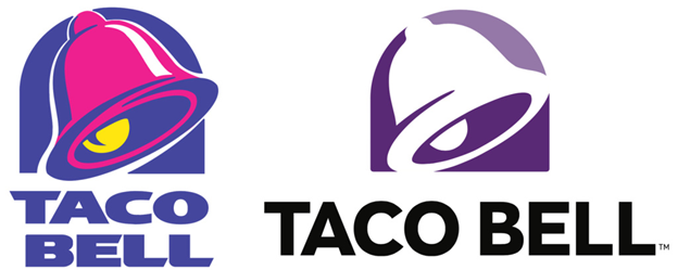 Taco Bell Logo new logo of taco bell spawns distrust - designmantic