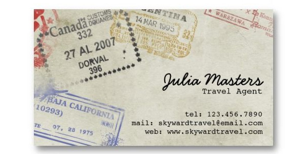 travel business cards 3