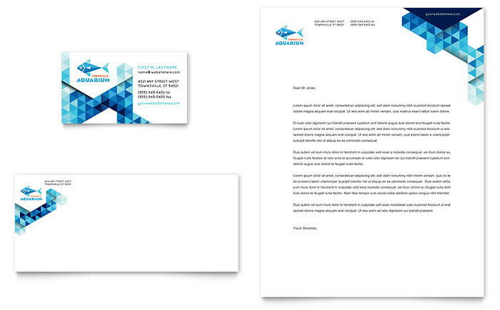 travel business with letterheads 1